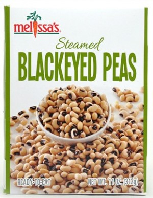 Melissa's Produce Steamed Blackeyed Peas