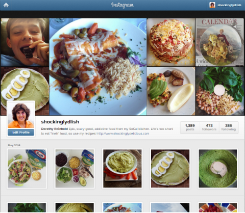 Shockingly Delicious on Instagram @shockinglydlish