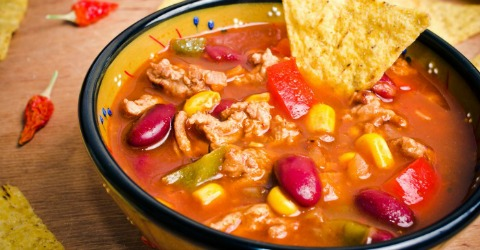 Slow Cooker Taco Soup from Totally the Bomb on ShockinglyDelicious