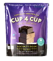 Cup4Cup Brownie Mix_14oz on ShockinglyDelicious.com