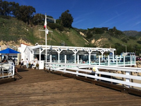 Malibu Pier Restaurant on ShockinglyDelicious.com