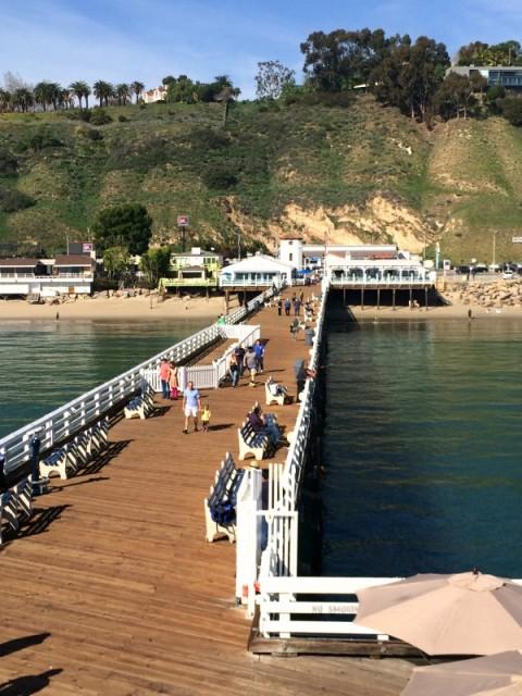 Malibu Pier on ShockinglyDelicious.com