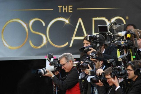 Oscars craziness in Los Angeles