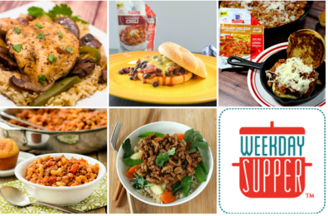 Quick and easy #WeekdaySupper recipes with McCormick's Skillet Sauces #McSkilletSauce