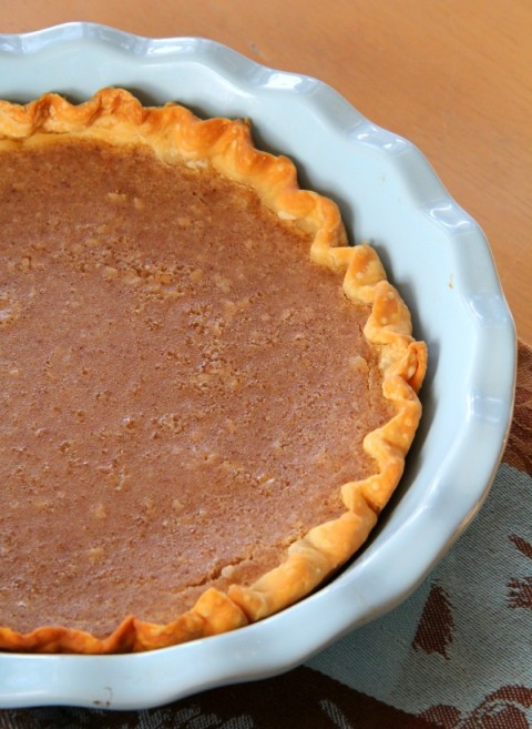 Sweet Bean Pie | Bean Pipe Dessert Recipe | ShockinglyDelicious.com