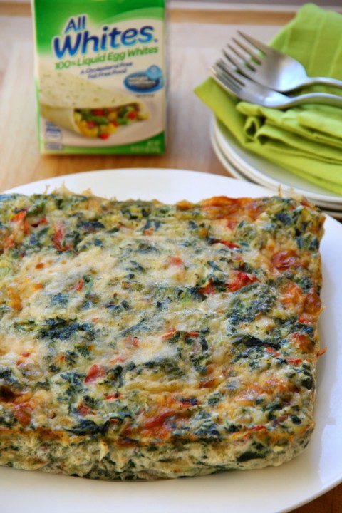 AllWhites Frittata Bites on ShockinglyDelicious.com