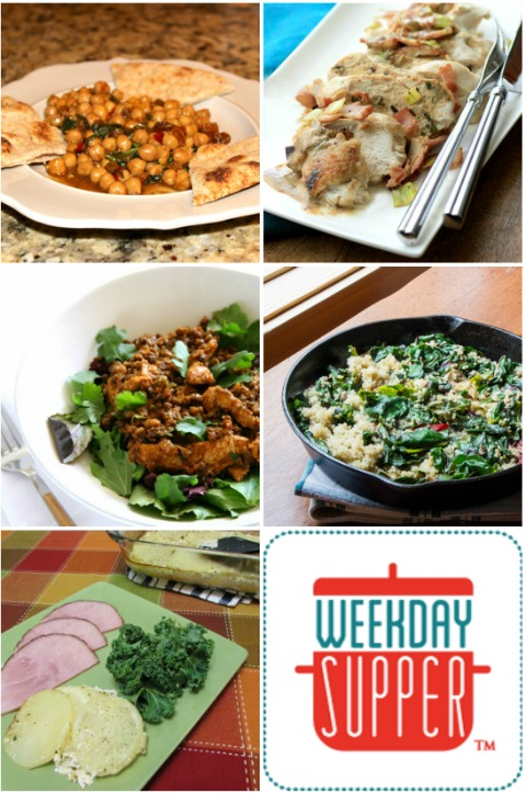 Green springtime recipes for #WeekdaySupper - Sunday Supper Movement