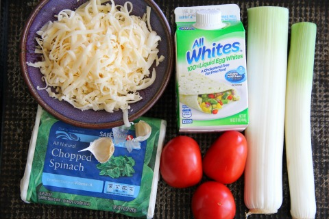 Ingredients for Frittata Bites