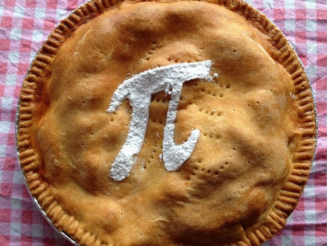 Having some fun on Pi Day, with recipes, jokes and pie stuff for the math geek and pie lover in all of us |ShockinglyDelicious.com