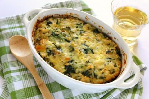 Spinach Rice Casserole heritage recipe on ShockinglyDelicious.com