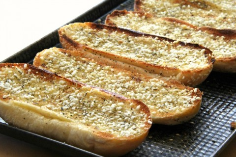 Epic Garlic Bread | Best Garlic Bread Recipe with Oregano and Parmesan for National Garlic Day | ShockinglyDelicious.com