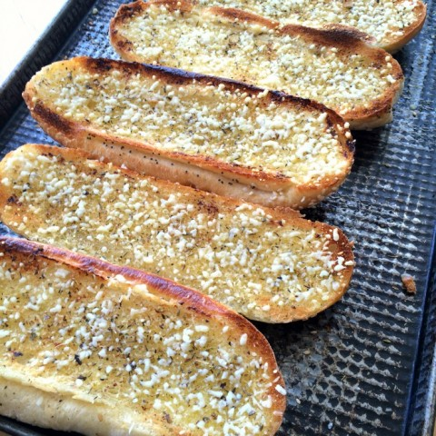 Epic Garlic Bread recipe on ShockinglyDelicious.com