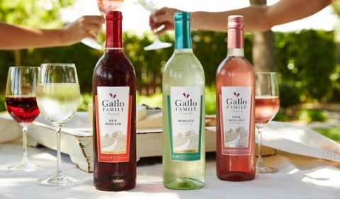 Gallo Family Vineyards Moscato wines