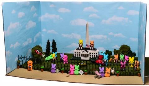 Peeps Show 2015 annual peeps diorama contest in detail - Washington Post