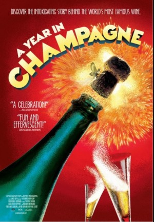 A Year in Champagne film about the making of champagne