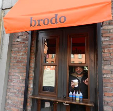 Bone Broth at Brodo in New York City