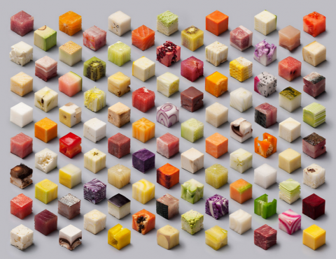 Can You Identify These 98 Foods Cut Into Identical Cubes