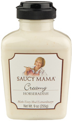 Favorite thing--Saucy Mama Creamy Horseradish on ShockinglyDeliciouss.com