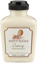 Favorite thing--Saucy Mama Creamy Horseradish on ShockinglyDeliciouss.com