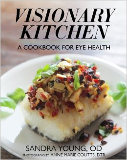 Favorite things--Visionary Kitchen A Cookbook for Eye Health on ShockinglyDelicious.com