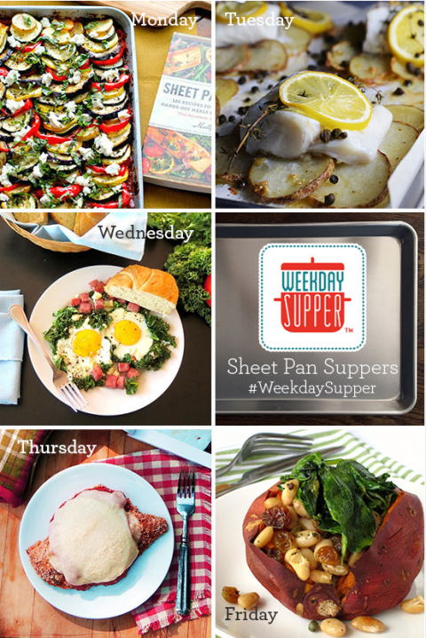 More Sheet Pan Suppers for #WeekdaySupper