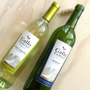 Gallo Family Vineyards Pinot Grigio and Merlot on ShockinglyDelicious.com