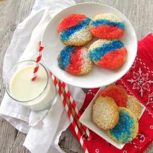 Italian Sprinkle Cookies | Classic Italian cookie with sprinkles, for parties and weddings, easy recipe | ShockinglyDelicious.com