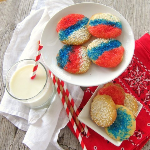 Italian Sprinkle Cookies   Classic Italian cookie with sprinkles, for parties and weddings, easy recipe   ShockinglyDelicious.com