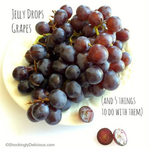 Introducing Jelly Drops Grapes | Delicious cross between Thompson Seedless and Concord Grape | ShockinglyDelicious.com