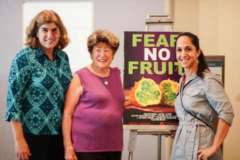 Dorothy Reinhold, Frieda Caplan and Valentina Wein at Fear No Fruit screening