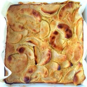 Custardy Apple Squares recipe on ShockinglyDelicious.com