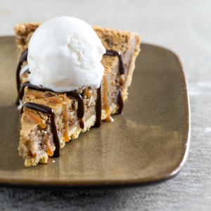 Hot Gooey Caramel Pie recipe on ShockinglyDelicious.com