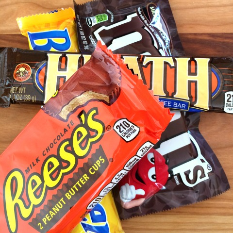 Leftover Halloween Candy on ShockinglyDelicious.com