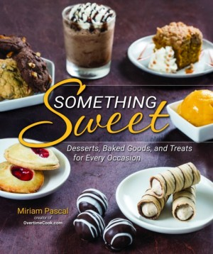 Something Sweet Kosher dessert cookbook on ShockinglyDelicious.com