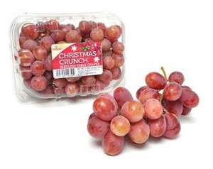 Christmas Crunch Grapes
