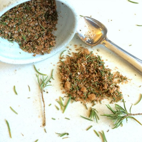 Herb and spice mix for Best Bar Nuts on ShockinglyDelicious.com