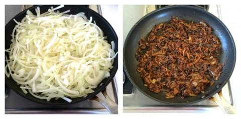 Caramelizing onions on ShockinglyDelicious.com