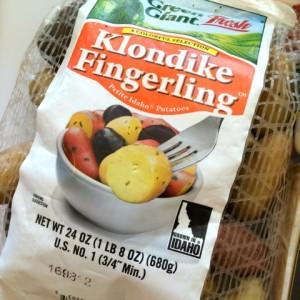 Idaho Potatoes fingerlings on ShockinglyDelicious.com