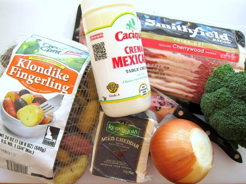 Ingredients for Poutine Bites on ShockinglyDelicious.com