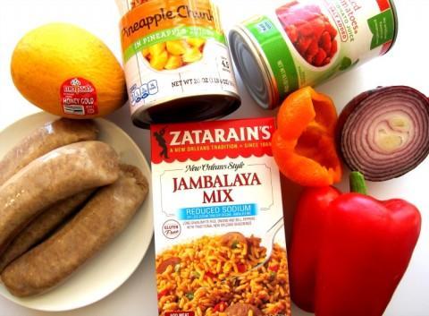 Ingredients for Hawaiian Jambalaya on ShockinglyDelicious.com