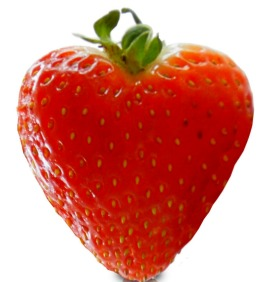 Strawberry Heart on ShockinglyDelicious.com