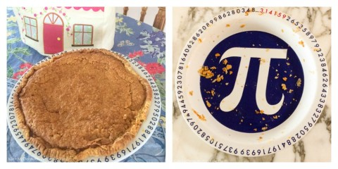 Kate McDermott's Irish Cream Pie for Pie Day and a Pi Pie plate
