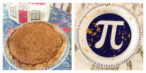 Kate McDermott's Irish Cream Pie for Pie Day and a Pi Pie plate