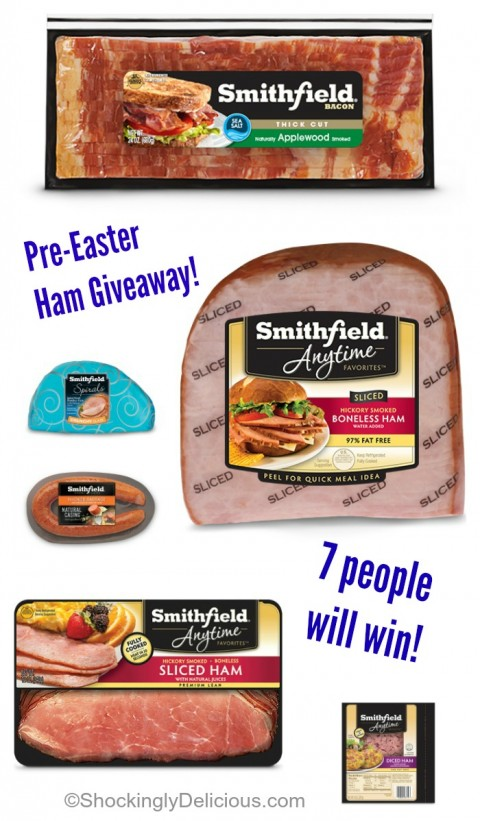 Pre-Easter Ham #Giveaway on ShockinglyDelicious.com