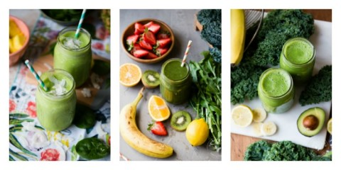 Simple Green Smoothies from the new cookbook