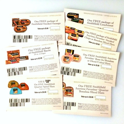 Smithfield ham and pork coupon giveaway on ShockinglyDelicious.com