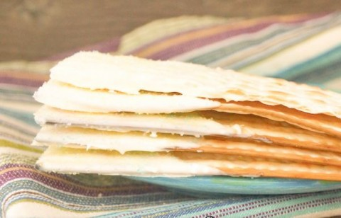 White Chocolate Dipped Matzo Treats for Passover by Valentina Wein
