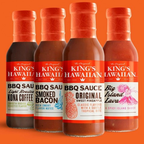King's Hawaiian BBQ Sauces