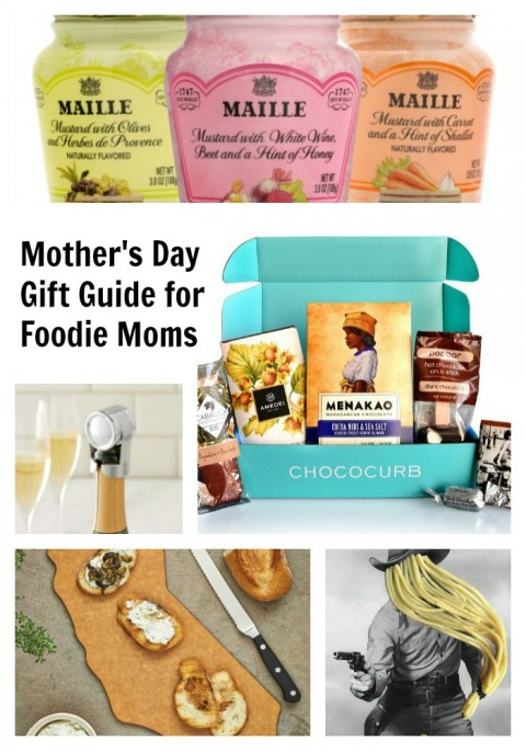 Mother's Day Gift Guide for Foodie Moms from ShockinglyDelicious.com