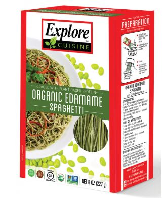 Edamame Spaghetti from Explore Cuisine